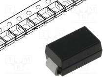 Diode  transil, 400W, 14.4V, 85A, unidirectional, SMA