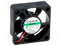 MC30101V1-A99 - Fan  DC, axial, 12VDC, 30x30x10mm, 9.34m3/h, 23dBA, Vapo, 3.808mmH2O