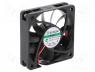 Fan  DC, axial, 24VDC, 60x60x15mm, 51.38m3/h, 36.2dBA, Vapo, 5400rpm