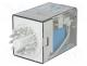 Relays - Relay  electromagnetic, 3PDT, Ucoil  24VDC, 10A/250VAC, 10A/30VDC