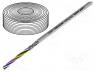 Καλώδια - Wire, UNITRONIC® LiYCY, 4x0,14mm2, shielded, PVC, grey, 350V, 100m
