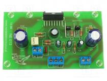Ηλεκτρονικό Κίτ - Circuit, Mono amplifier, 100W, IC  TDA7294, Channels  1
