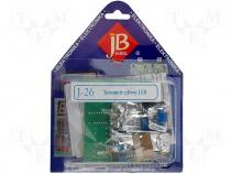 J-26 - Do-it-yourself kit, LCD digital thermometer