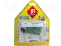 J-72 - Do-it-yourself kit, microphone amplifier