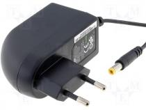 Mains adaptor, switch mode pwr supply 15V, 1,6A