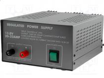 PN1020 - Pwr sup.unit  switched-mode, stabilised, 13.8VDC, 200x160x100mm