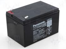Rechargeable acid cell 12V 12Ah 151x101x94 Panasonic