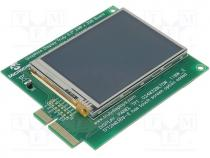 AC164127-4 - Expansion board with LCD display, LCD display