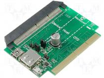 AC164131 - USB PICtail Plus daughter board