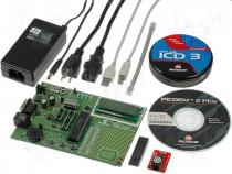 DV164036 - Evaluation Kit MPLAB-ICD3 PICDEM2-PLUS