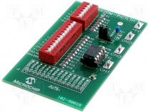 MCP6SX2DM-PCTLT - PICtail Demo Board for MCP6S22, MCP6S92 Thermistor