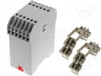CP-23-20 - Enclosure for DIN rail, with 24 terminals 45x81,8x99mm