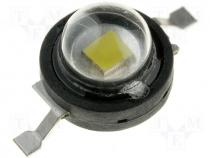 OF-HPW1-1EL - LED 1W, 35-45lm, white, 140°