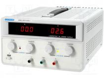 MPS-1820L-1 - Pwr sup.unit  laboratory, Channels 1, 0÷18VDC, 0÷20A, Plug  EU