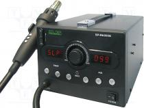 Hot air soldering station, digital, ESD, 800W, 150÷500°C, Plug  EU