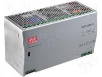 DRP-480-24 - Pwr sup.unit pulse, 480W, 24VDC, 20A, 180÷264VAC, 250÷370VDC