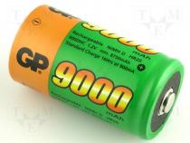 ACCU-R20/9000-H - Rechargeable cell Ni-MH 1,2V 9000mAh dia 32x62 standard