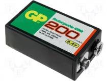 ACCU-R22/200-GP - Rechargeable cell Ni-MH 8,4V 200mAh R22,9V GP