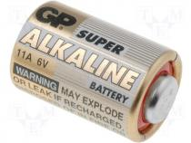 BAT-11A/MN11-GP - Alkaline battery 6V 11A MN11 dia 10x16mm GP