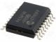Microcontrollers PIC - Integrated circuit CPU 7KB Flash, 368RAM, 16 I/O SOIC18
