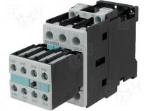 Contactor S0 12A 5,5kW 2xNO@xNC coil 230V AC