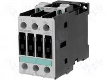 3RT1025-1BB40 - Contactor S0 17A 7,5kW coil 24V DC
