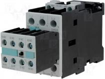 Contactor S0 17A 7,5kW 2xNO@xNC coil 24V DC