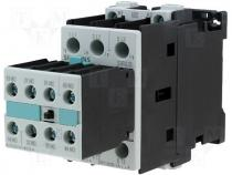 Contactor S0 25A 11kW 2xNO@xNC coil 230V AC