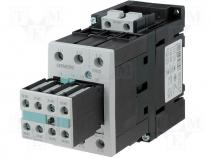 3RT1035-1BB44 - Contactor S2 40A 18,5kW 2xNO@xNC coil 230V AC