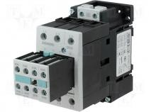 Contactor S2 17A 7,5kW 2xNO@xNC coil 230V AC