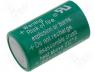 BAT-CR1/2AA - Lithium battery 3V 950mAh dia 14x25mm Varta