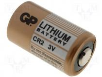 BAT-CR2 - Lithium battery 3V dia 16x27mm GP