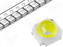 WW-C35SW00L0-B7 - LED 0.5W 3535 ceramic white 36lm 80° with lens