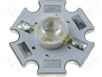 HPD8B-49K5YWF/W - Power LED 5W focus warm white 232lm 45° STAR