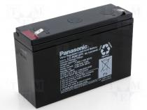 ACCU-HP12-6/P2 - Rechargeable acid cell 6V 12Ah 151x50x94 Panasonic