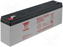 Re-battery  acid-lead, 12V, 2.3Ah, Storage time 3-5 years