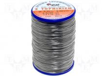 Solderwire, lead free, with copper addition 0,5mm/0,5kg