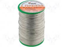Solderwire, lead free, with copper addition 0,7mm/0,5kg