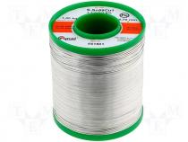 Solderwire, lead free, with copper addition 0,7mm/1,0kg