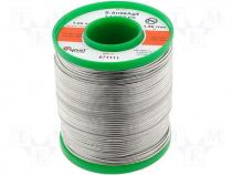 Solderwire, lead free, with copper addition 1,5mm/1,0kg
