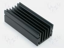 Heatsink, series SK68 75mm Fischer TO220