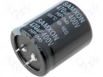 HP470/400  - Capacitor electrolytic THT 470uF 400V O35x40mm ±20% 2000h