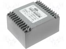 TSPZ30/2X15V - Encapsulated mains transformer 30VA 230/115/2x15V