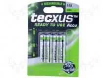 ACCU-R3/800HTR-BL - Rechargeable battery Ni-MH AAA, R3 1.2V 800mAh READY TO USE
