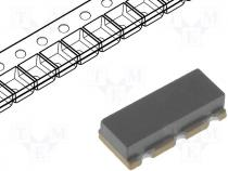 ZTTCC2MG - Resonator ceramic, 2MHz, SMD, 7.4x3.4x1.8mm, ±0.5%