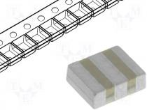 Resonator ceramic, 12MHz, SMD, 3.7x3.1x1.2mm, ±0.5%