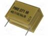 Capacitor  paper, X2, 100nF, 275VAC, Pitch 15.2mm, ±20%, THT, 630VDC