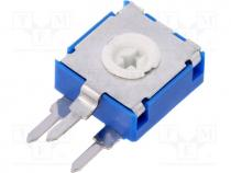 CA9MH-500K - Potentiometer  mounting, single turn, vertical, 500kΩ, 0.15W, ±20%