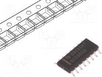 TTL-Cmos - IC  peripheral circuit, 8bit, shift register, SMD, SO16, -40÷125°C
