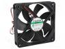 Ανεμιστήρας DC - Fan  DC, axial, 24VDC, 120x120x25mm, 183.9m3/h, 44.5dBA, Vapo, 24AWG